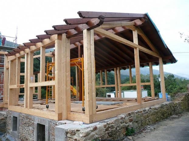 Proceso de construccin de la casa youtube autos weblog - Construcciones de casas de madera ...